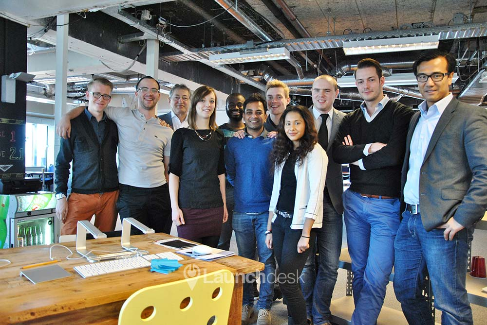 The provider of the Startup Foundation office space in Rotterdam