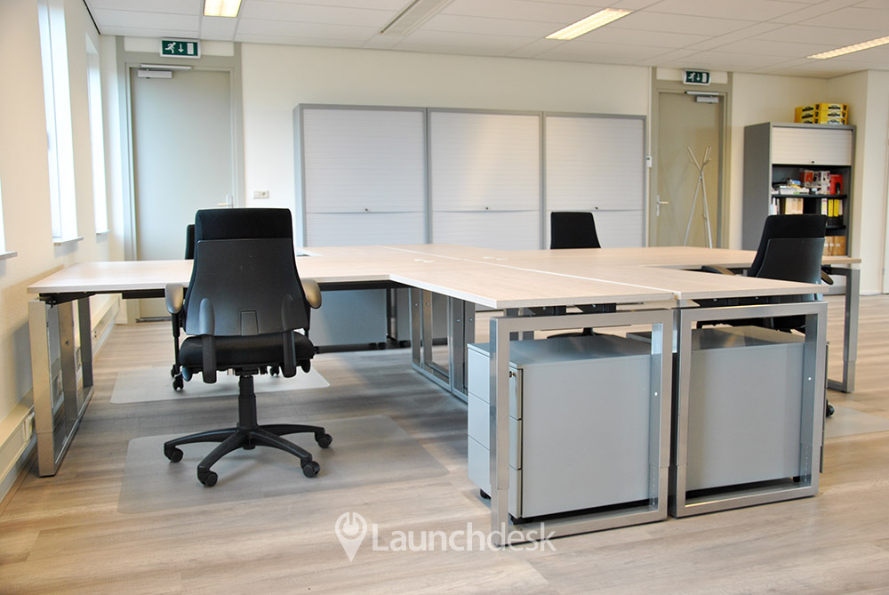 Werkplekken bij Krijn Taconiskade   Amsterdam IJburg   Launchdesk