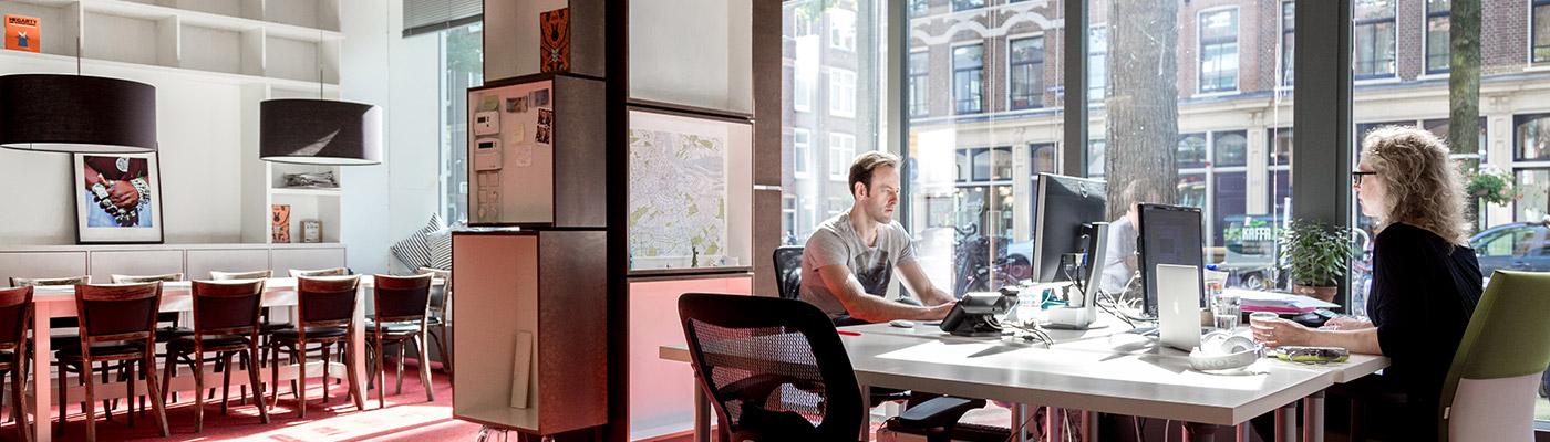 Werkplekken bij Czaar Peterstraat Leeghwater   Amsterdam Centrum   Launchdesk