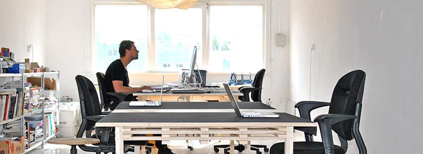 werkplek te huur in kantoorpand in Amsterdam noord