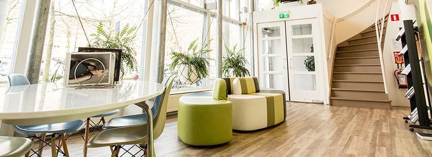 open ruimte in kantoorpand in Amsterdam zuid oso