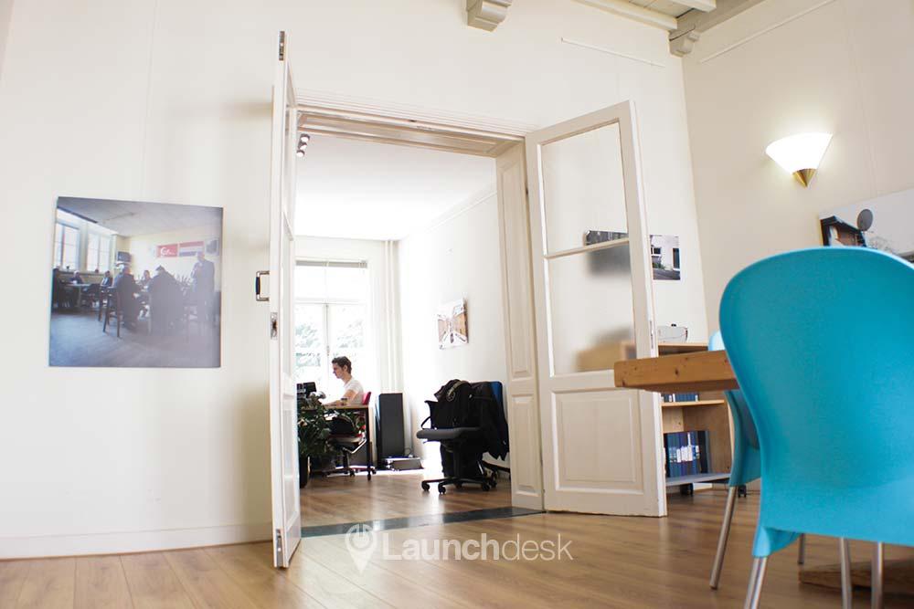 Werkplekken bij Kromme Nieuwegracht Pieter   Utrecht Centrum   Launchdesk