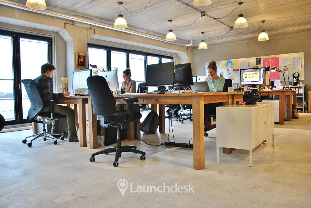 Klein Kantoor Inrichten : Klein kantoor planken ~ referenties op huis ontwerp interieur