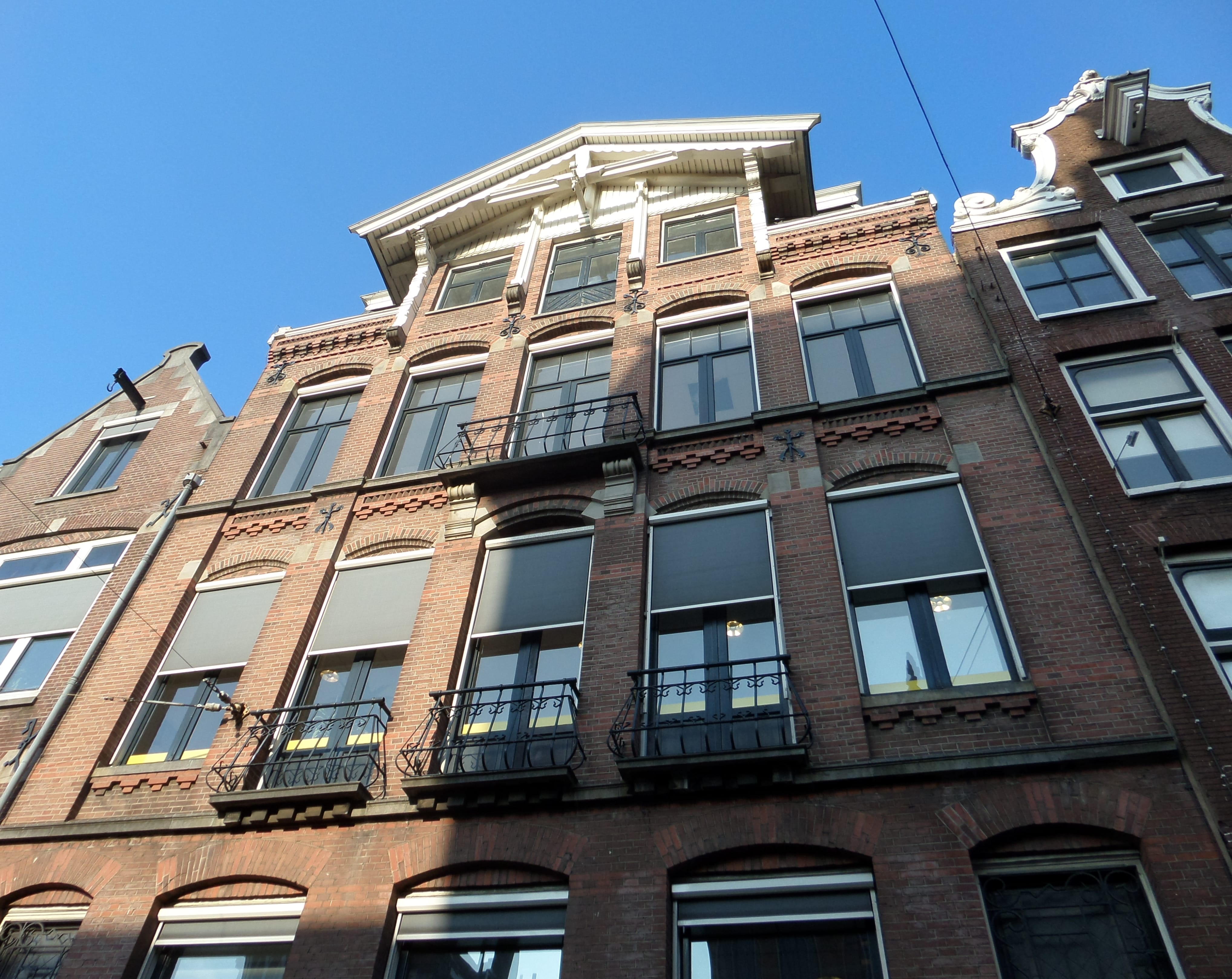 virtual offices for rent at the Raadhuisstraat in Amsterdam