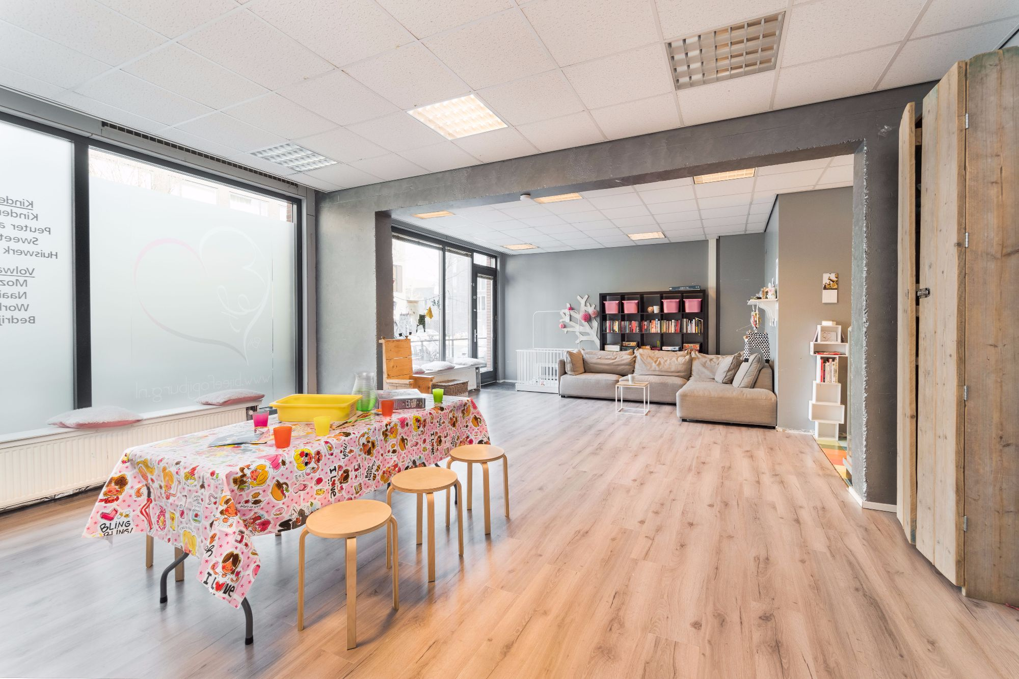 Working places for rent in Amsterdam childcare