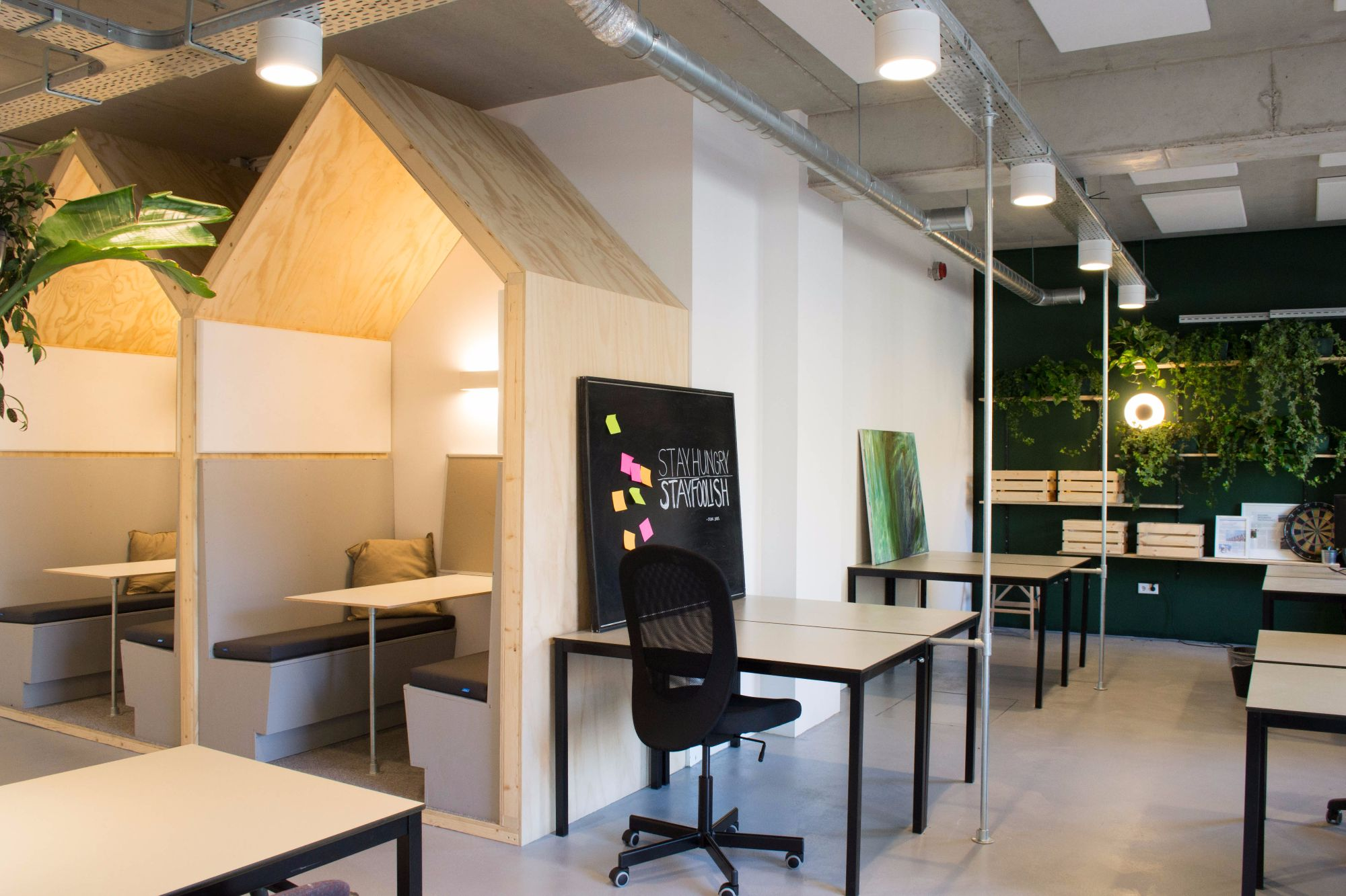 Working places for rent in Amsterdam